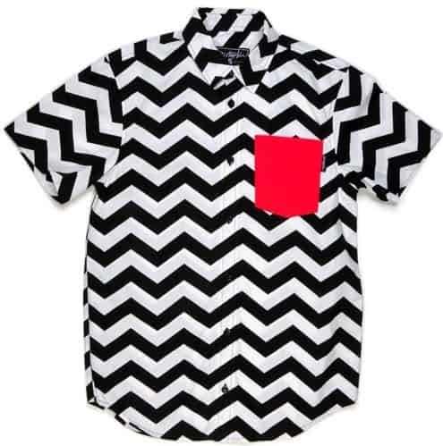 Black Lodge Shirt by Disturbia Clothing