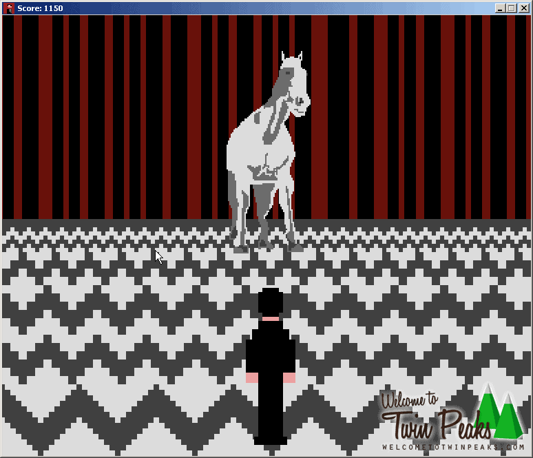 Black Lodge 8-Bit Twin Peaks Video Game