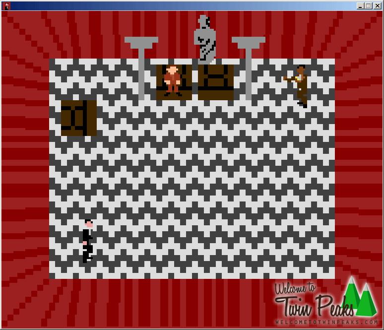 Black Lodge Atari 2600 Game: The Waiting Room
