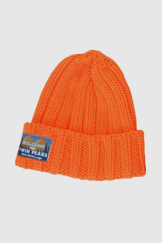 Black Weirdos Twin Peaks collection Knit Cap