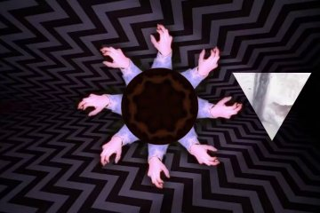 Black Wing - Luther, hallucinating Twin Peaks video