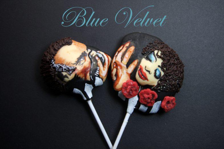 Blue Velvet cake pops