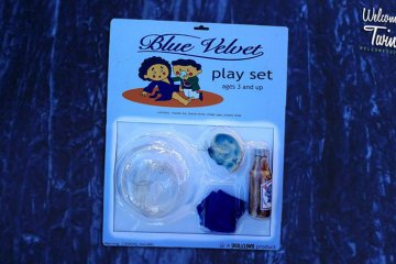Blue Velvet playset: PBR, ear, oxygen mask, choke rope