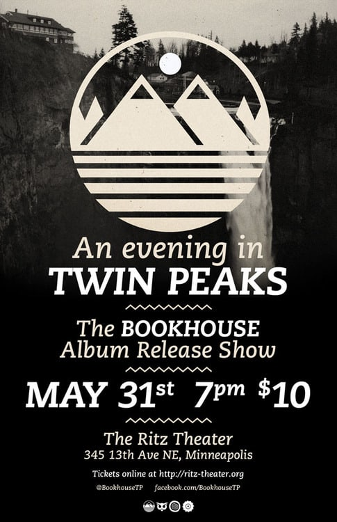An evening in Twin Peaks with Bookhouse