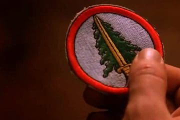 Bookhouse Boys patch Twin Peaks prop