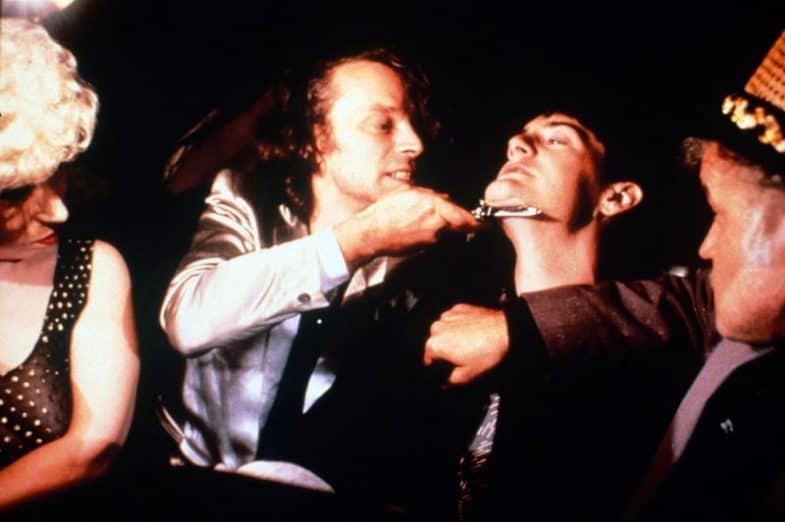 Brad Dourif, Kyle MacLachlan and Jack Nance in David Lynch's Blue Velvet