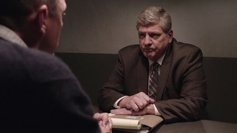 Brent Briscoe as Detective Macklay in Twin Peaks Season 3