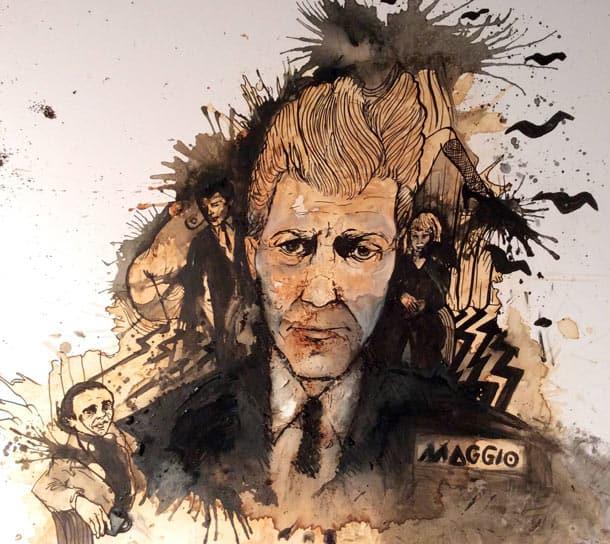 Carolina Maggio's David Lynch coffee portrait