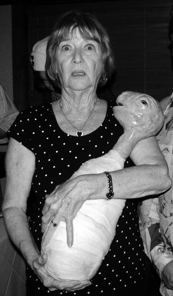 Mary X reunited with the Eraserhead baby