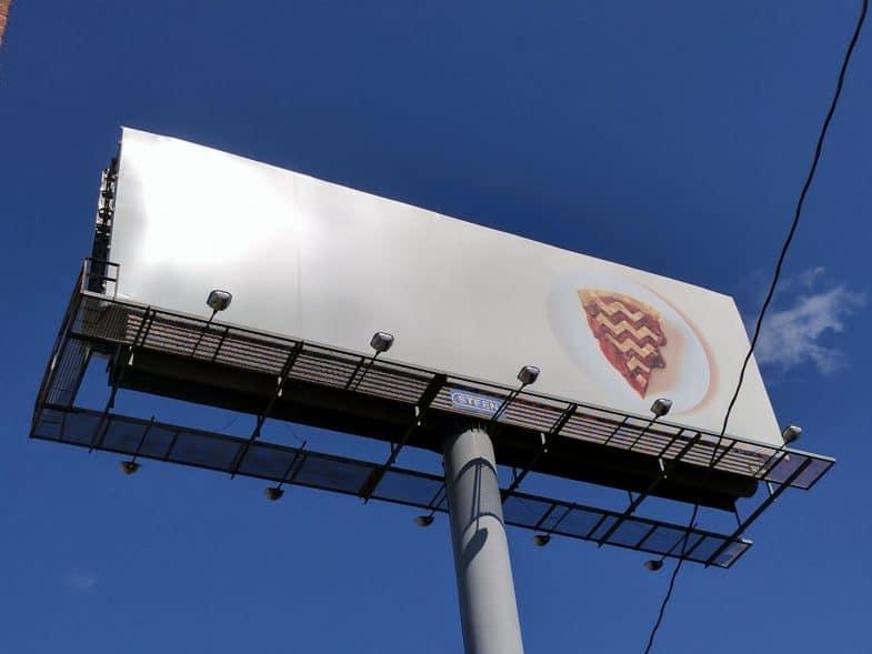 Twin Peaks cherry pie sign in Philadelphia's Northern Liberties