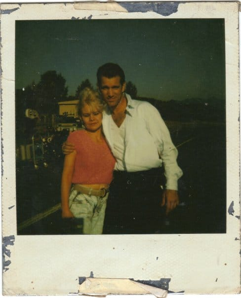Chris Isaak and Yvonne Roberts