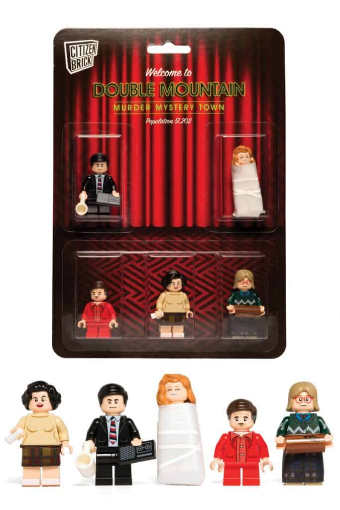 Twin Peaks LEGO - Double Mountain Murder Mystery Town