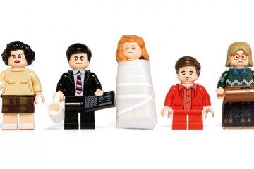 Twin Peaks LEGO minifigs