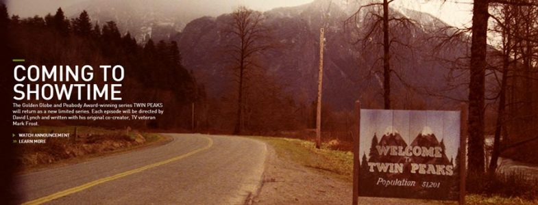 Twin Peaks coming to Showtime (in 2017?)