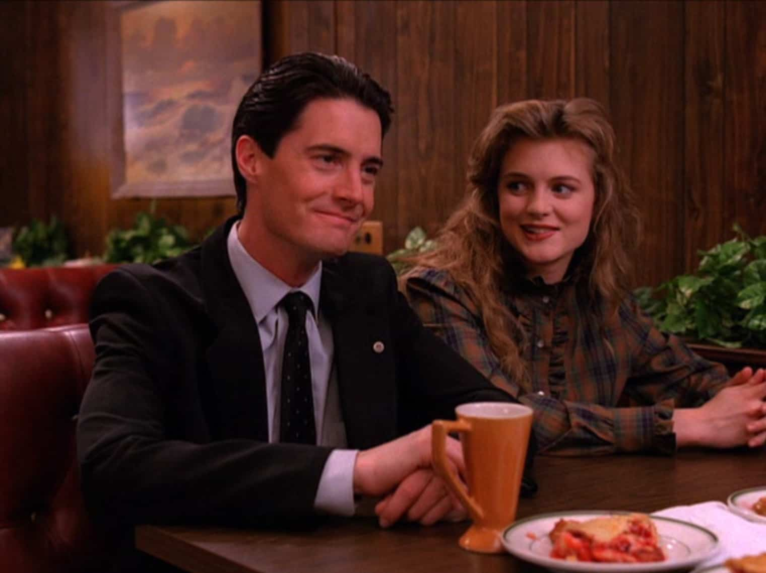 Dale Cooper and Annie Blackburn at the Double R Diner