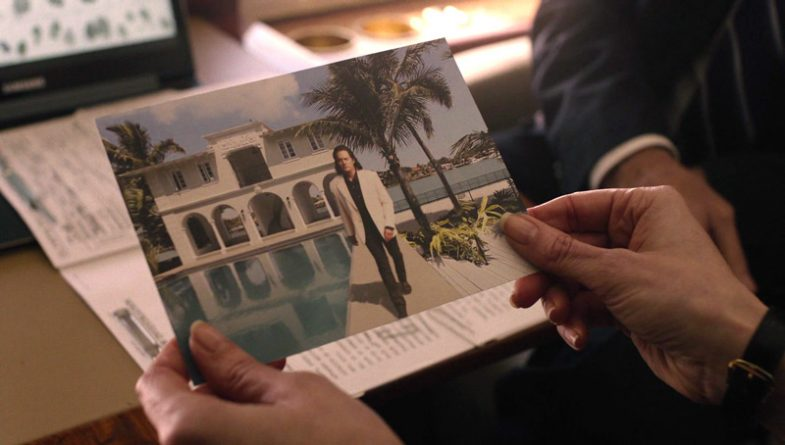 Photograph of Dale Cooper at his house in Rio