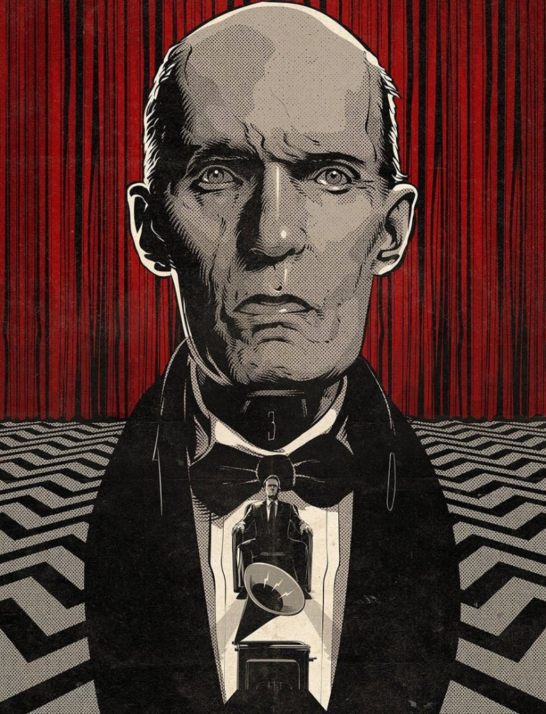 Twin Peaks Part 1 poster by Cristiano Siqueira