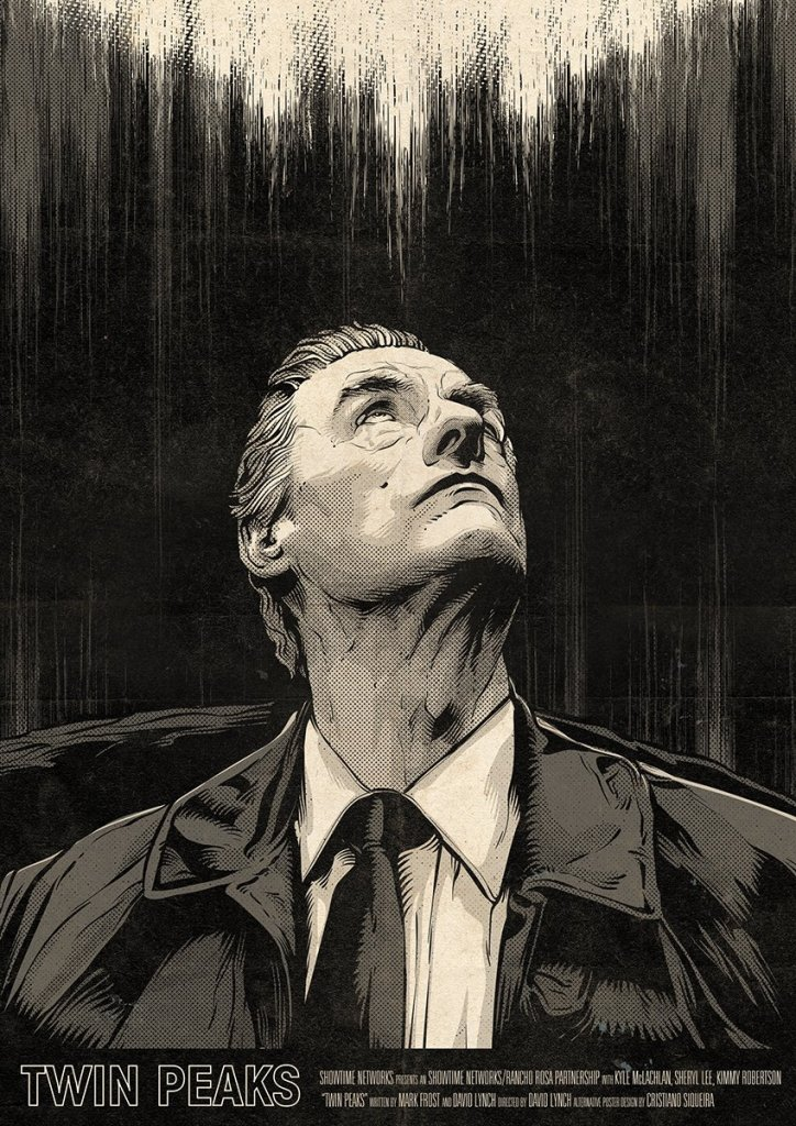 Twin Peaks Part 14 poster (Andy Brennan) by Cristiano Siqueira