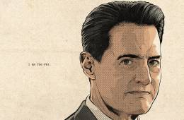 Twin Peaks Part 15 poster (Andy Brennan) by Cristiano Siqueira
