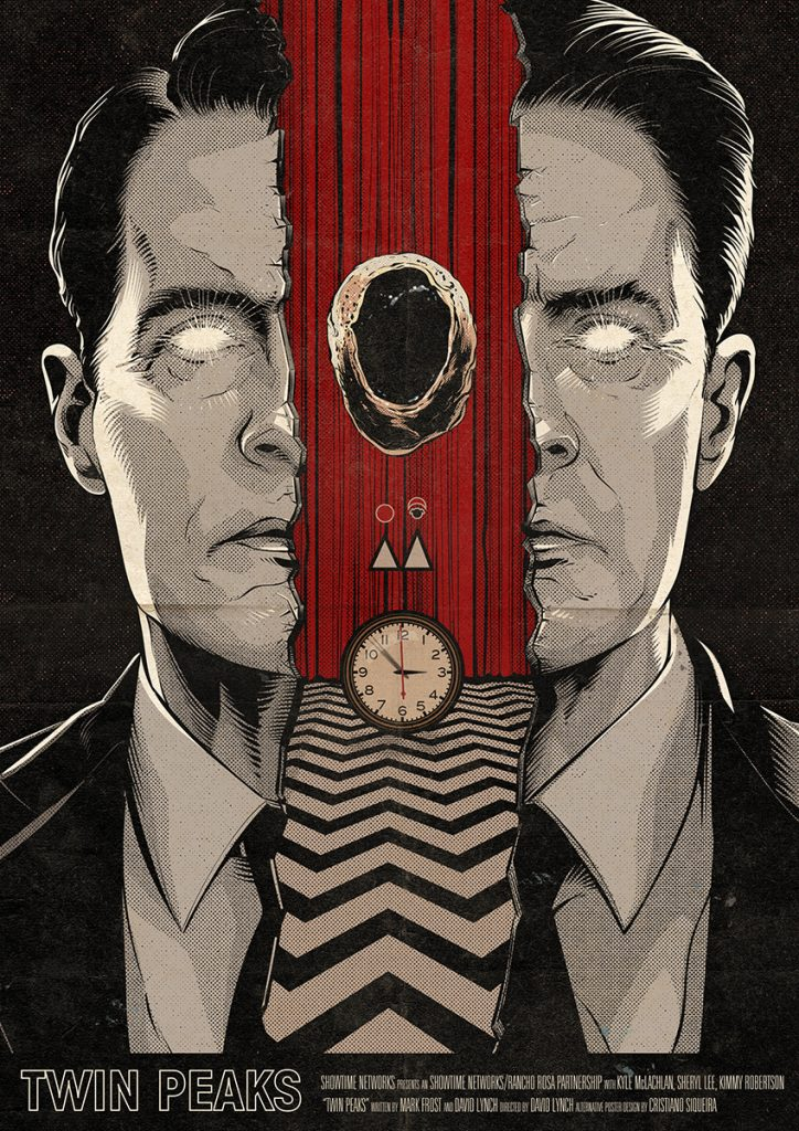 Twin Peaks: Part 17 poster by Cristiano Siqueira
