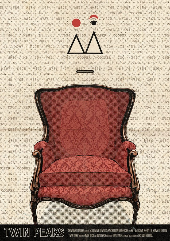 Twin Peaks Part 9 poster: This is the chair