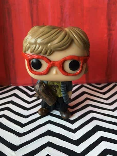 Custom Twin Peaks Funko Pop - Log Lady