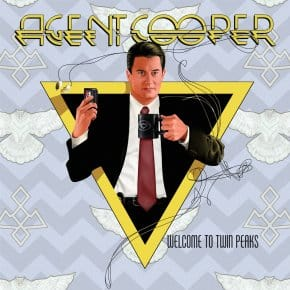 Agent Cooper Vs. Alice Cooper Album Cover Art Mashup
