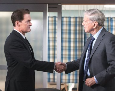 Dale Cooper and Bushnell Mullins in Part 16 of Twin Peaks Season 3