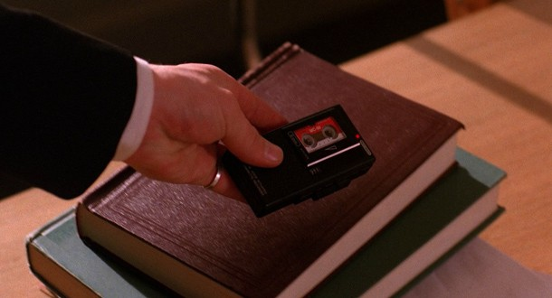 Dale Cooper's voice-activated tape recorder, available as a phone case for iPhone and Samsung