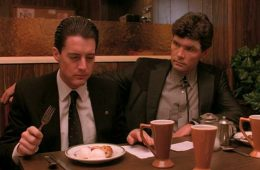 Dale Cooper eating cherry pie