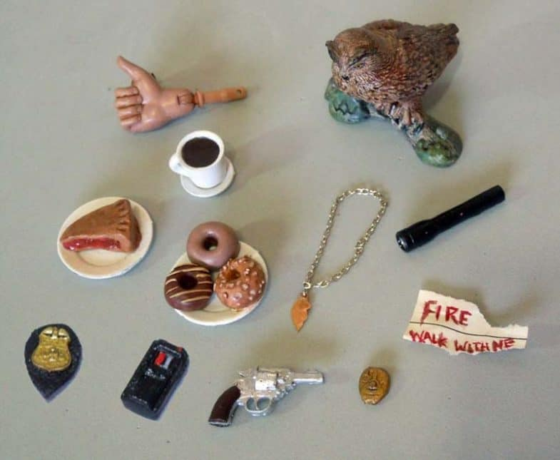 Dale Cooper collectible action figure accessories