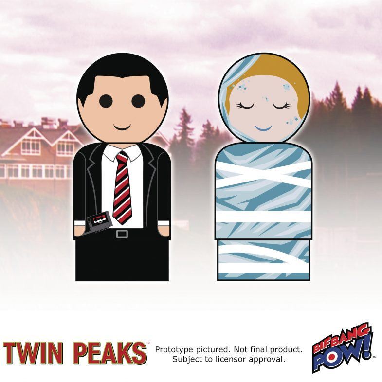 Dale Cooper & Laura Palmer Pin Mate set