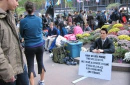 Dale Cooper at Occupy Wall Street