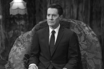 Dale Cooper in the opening scene of Twin Peaks: The Return