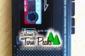 Dale Cooper's tape recorder prop