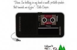 Dale Cooper Diane Tape Recorder
