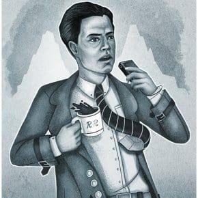 Old Film Noir Twin Peaks Illustrations