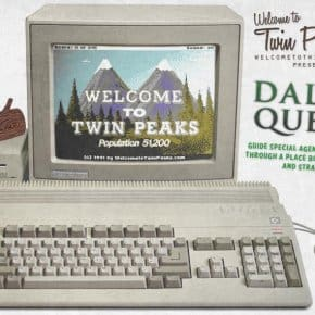Dale's Quest, A Vintage Twin Peaks Adventure Game Ad