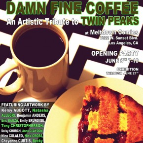 Damn Fine Coffee: An Artistic Tribute To Twin Peaks