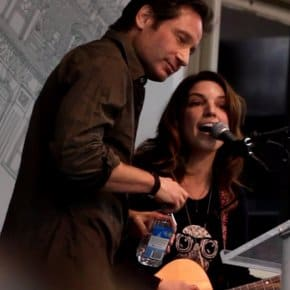"""""""David Duchovny"""" Performed Live For David Duchovny By Bree Sharp (Video)"""