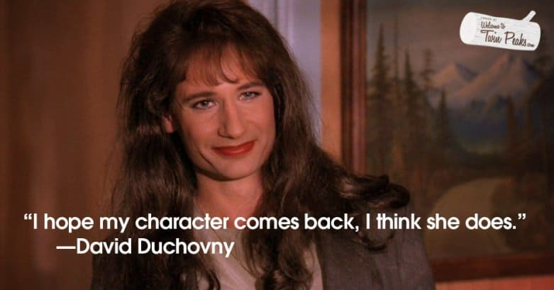 David Duchovny on the return of Denise Bryson