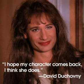 "David Duchovny: ""I Hope Denise Comes Back. I Think She Does."""