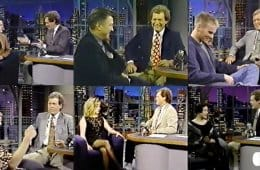 David Letterman: Twin Peaks cast interviews