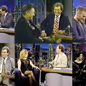 David Letterman's Twin Peaks Interviews: Kyle MacLachlan, Dana Ashbrook, Kimmy Robertson, Russ Tamblyn, James Marshall And David Lynch