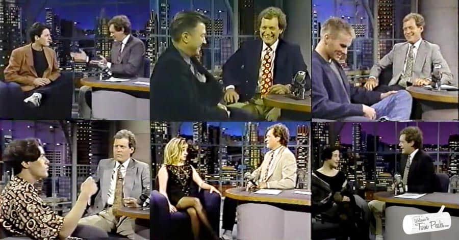 David Letterman: Twin Peaks cast interviews