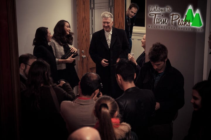 David Lynch at Jack Tilton Gallery, New York (3) by Pieter Dom