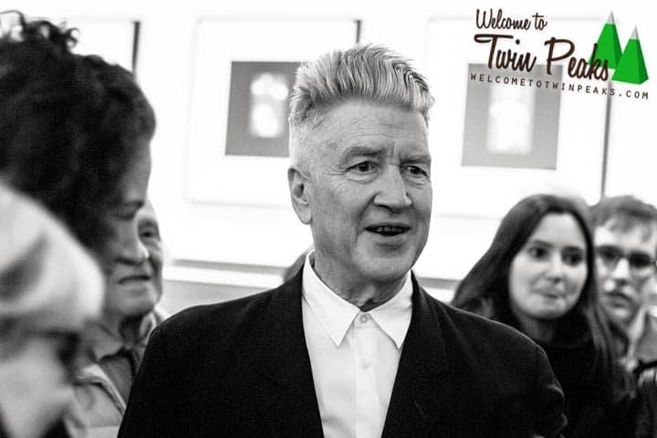 David Lynch at Jack Tilton Gallery, New York (1) by Pieter Dom
