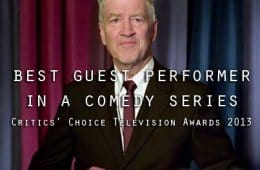 David Lynch: Nominated for Best Guest On Comedy Series For Louie