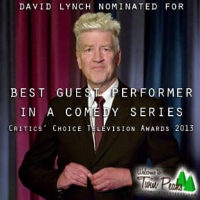 David Lynch's Louie Performance Nominated For Best Guest In Comedy Series