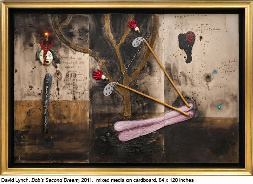 David Lynch: 'Bob's Second Dream' (2011). (Courtesy Tilton Gallery)
